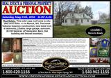4 Bedroom, 2 Bath Home At Auction in Renick WV