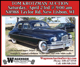 Tom Krotzman Auction