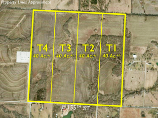 Land Auction: 160 Acres in 4 Tracts | Jackson/Cass County Line
