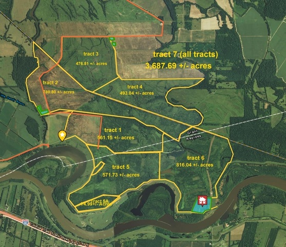 Louisiana Duck Deer Hunting Property with Custom Home For Sale