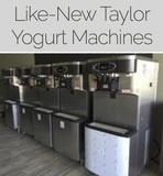 INSPECT MONDAY New Taylor Yogurt Machines Online Auction  Manassas VA