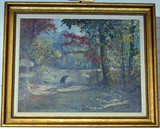 F.C. Brown Oil Painting, Solid Wood Furniture, Antiques & Glass, Tools, & Much More!