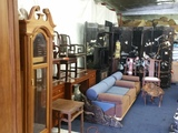 Vintage and New Asian Furniture. Grandfather Clocks, General Goods ON-LINE AUCTION