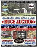 18.75 Acre +/- Hide Away, GUNS, TOOLS, and VEHICLES