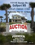 Online Only Auction 11115 Sonja Dr. Gulfport MS