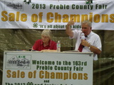 Famous Preble County Fair 4-H Livestock Auction