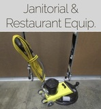 Janitorial & Restaurant Equipment Online Auction Baltimore Md