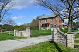 REAL ESTATE  - HISTORIC BRICK FARMHOUSE, 15 ACRES