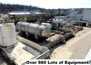 Onsite Auction with Internet Bidding Available- Equipment From a Former PMC Facility- Complete Plant Closure- Over 680 Lots!