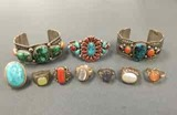 American Indian & Sterling Jewelry Auction