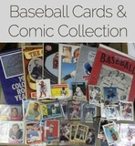 Baseball Card & Comic Books  collector Online Auction Winchester Va
