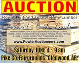 AUCTION: LUMBER AND CONSIGNMENT
