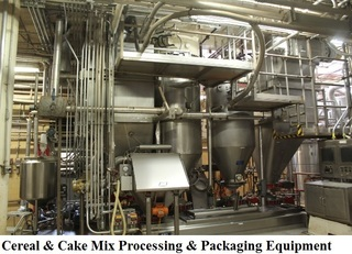 2 Day Onsite Auction with Internet Bidding - Assets Fomerly of General Mills - Plant Closed- Over 3,000 Lots!