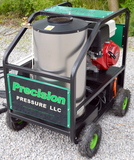New Industrial Honda Hot Pressure Washers with Warranty