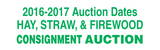 2016-2017 Hay, Straw & Firewood Auction