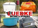 Luedke Auctions: Local Fish Farm & Pheasant Equipment
