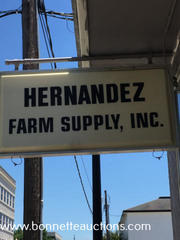 FARM SUPPLIES FOR SALE AT AUCTION IN LEESVILLE, LA