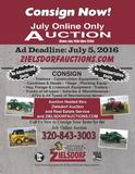 July Online Only Consignment Auction