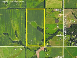 Owner Ordered Online Auction: 80 Acres Prime Southern Johnson County Residential Development Land | Spring Hill, KS  BIDDING ENDS TOMORROW!