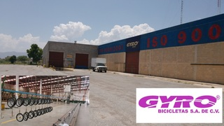 Internet Bidding Only Assets Formely of Gyro Bicicletas (Plant Closed) - Subasta en Linea Equipos de Gyro Bicicletas- Planta Cerrada