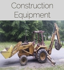 Closed and Sold Construction Equipment Online Auction