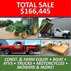ONLINE ONLY ABSOLUTE AUCTION - Equipment