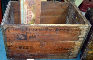 Antique Fort Wayne Beer Crates