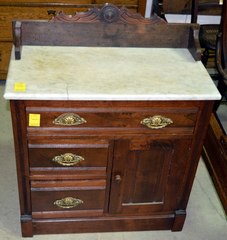 Marble-top Washstand