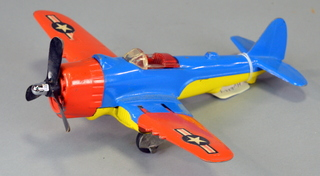 Hubley Toy Airplane