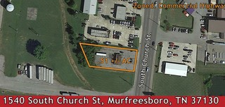 832 +/- SF Commercial Building on .51 +/- AC Zoned Commercial Highway Near Busy Intersection