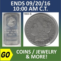 ONLINE ONLY ABSOLUTE AUCTION - COINS / JEWELRY