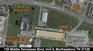 2,200 +/- SF Commercial Condominium Office Space Zoned H-I (Heavy Industrial) in Murfreesboro, TN
