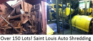 Onsite Auction with Internet Bidding Available- Equipment from Saint Louis Auto Shredding-  Complete Scrap Processing Facility Equipment