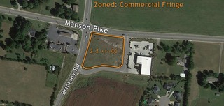 2.18 +/- AC Lot Ready for Commercial Development in Blackman Area of Murfreesboro, TN