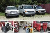 Charleston, SC - Vehicles, Paint Equipment, Tools, Supplies & More! - Online Only Auction