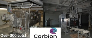 Internet Bidding Only Auction- Surplus Equipment from the Ongoing Operations of Corbion