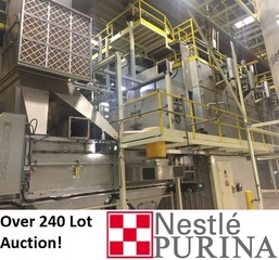 Internet Bidding Only Auction- Surplus Equpiment from the Ongoing Operations of Nestle Purina Pet Care