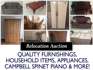 Online Only Relocation Auction