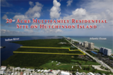 AUCTION of 20+/- Acre Multifamily Residential Site on Hutchinson Island