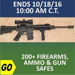 ONLINE ONLY ABSOLUTE AUCTION - FIREARMS