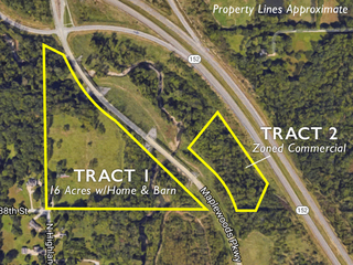 Absolute Land Auction: 20 Acres Offered in Two Tracts | Kansas City North