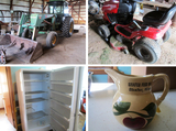 Estate Tractors, Tools & Household - Shafer, MN