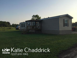 HOME AND 3 ACRES OF LAND FOR SALE IN VILLE PLATTE LOUISIANA