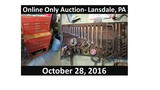Online Only- Tools, Auto Parts & Home Furnishings Auction