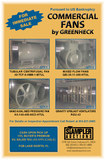 FOR SALE --- GREENHECK COMMERCIAL FANS