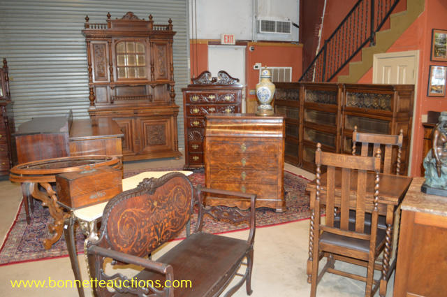 Click on any image to view larger. - Antiques & High End Furnishings Auction - Bonnette Auctions