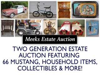 Pleasant Valley Downsizing Auction: 1966 Mustang, Household & Collectibles