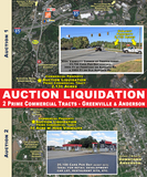 Commercial Property Auction Liquidation Prime Commercial Tracts – Greenville & Anderson