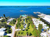 Sarasota County, Florida Owned Real Estate Auction, -  Magnificent Point Lot Home, Englewood, Florida
