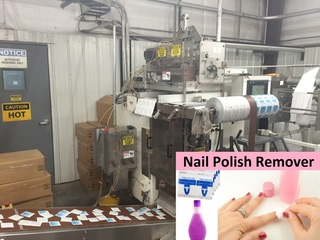 Internet Bidding Only Auction - Surplus Equipment from CPL Holdings, Inc. -- Major Contract Manufacturer of Nail Polish Remover Products